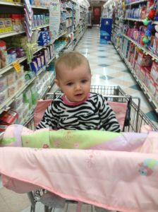 Baby E, Ready to Shop and Save!