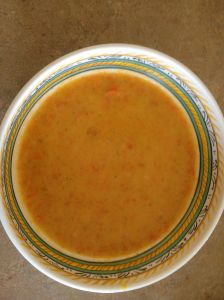 Sweet Potato Soup Finish
