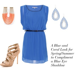 Blue Color Look