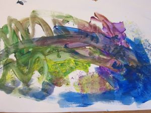 """E's artistic interpretation of """"Spring"""""""