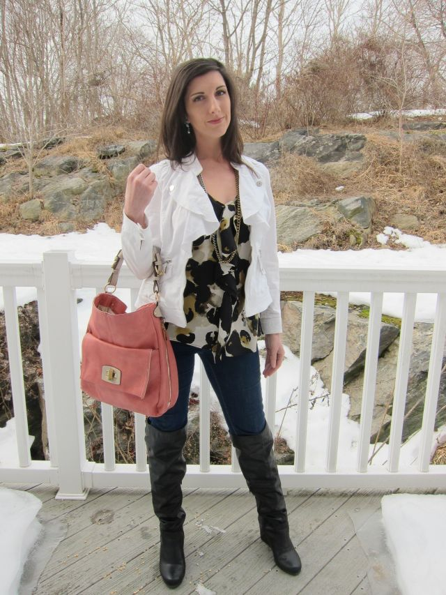 Any mom, and I mean any, can rock their favorite styles, even over the knee boots!