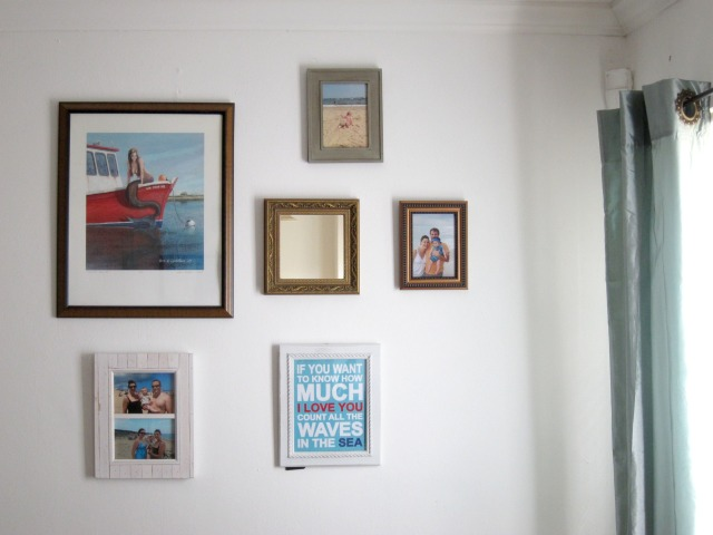 The Living Room gallery wall