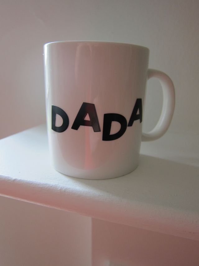 DADA Mug Before