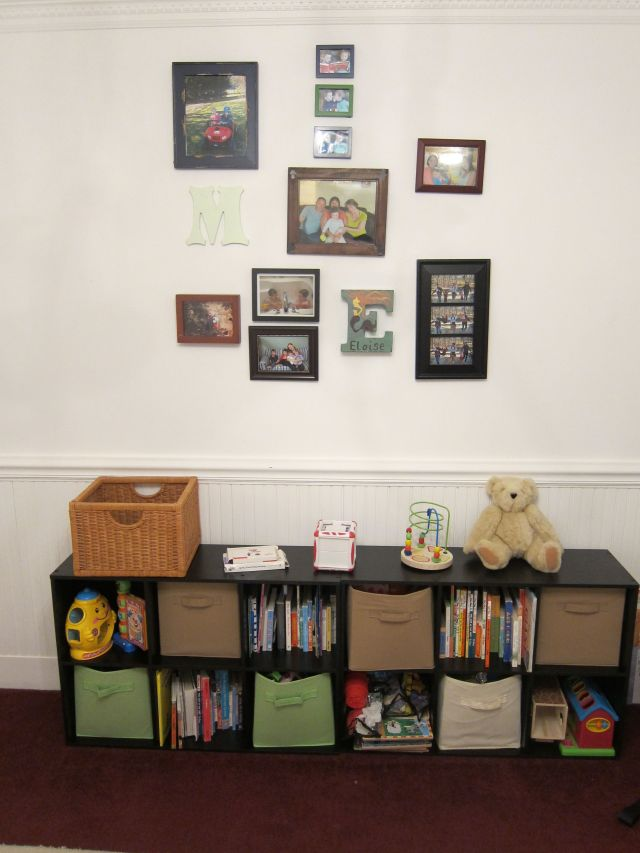 E's Playroom and Gallery Wall