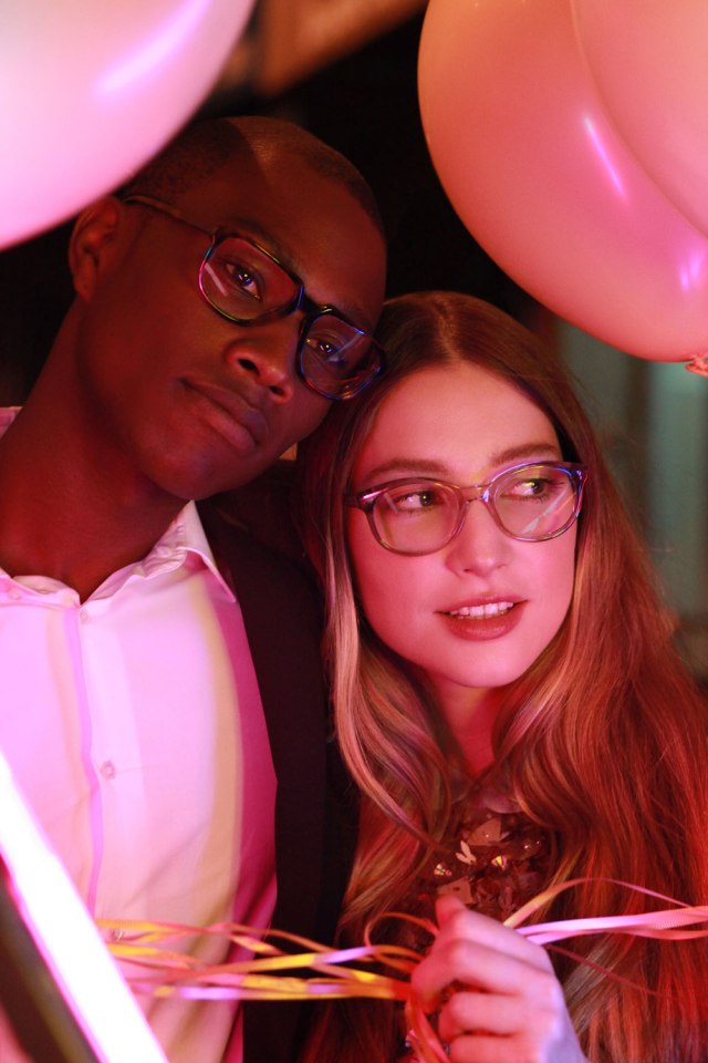 McKee, Right. Fun, flirty and smart, take these eyeglasses from day to night effortlessly.
