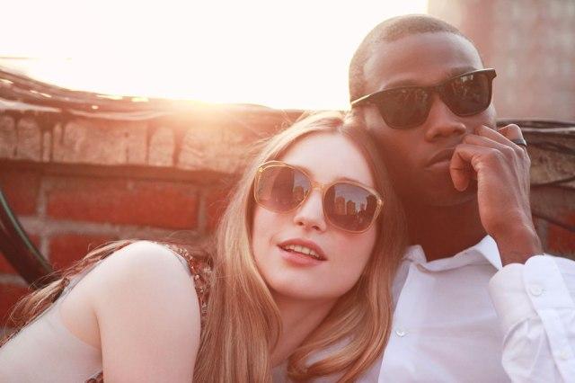 the Nicole (Left) and Ingram  Sunglasses.