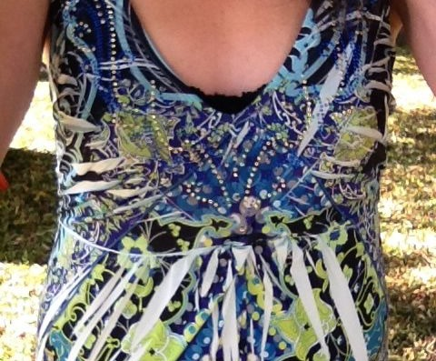 Instead of a panel you have a small twist for patterned maxis.
