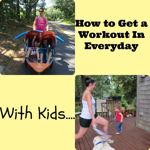 Getting a Workout in with Kids