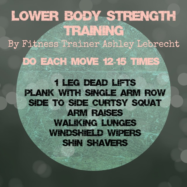 Lower Body Strength Training by Ashley